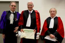 Remise du diplôme de docteur honoris causa